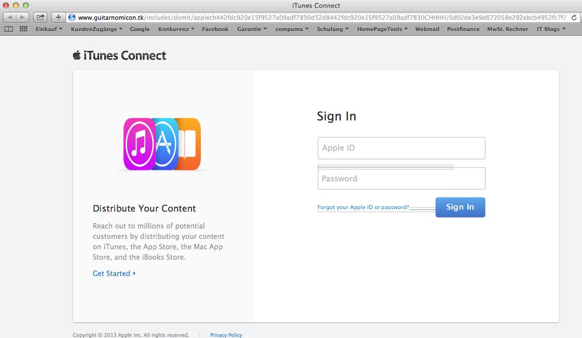 Apple Seriöse E Mails Des Itunes Store Erkenne